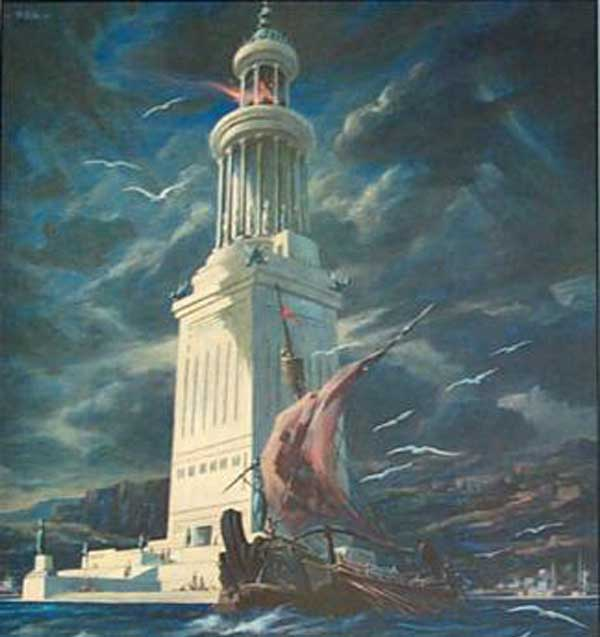 pharos of alexandria 2016-3-14 the port city of alexandria was 'the greatest mental crucible the world has ever known' illustration: hulton archive/getty images the secret to alexandria, if classical historians are to be believed, lies in a golden casket studded with jewels and small enough to hold in one's hands, the.