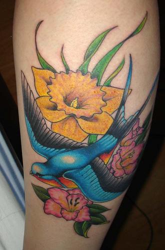 daffodil-tattoo