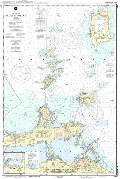 kelleys island chart