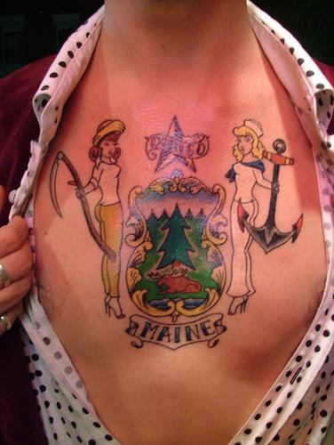 maine tattoo