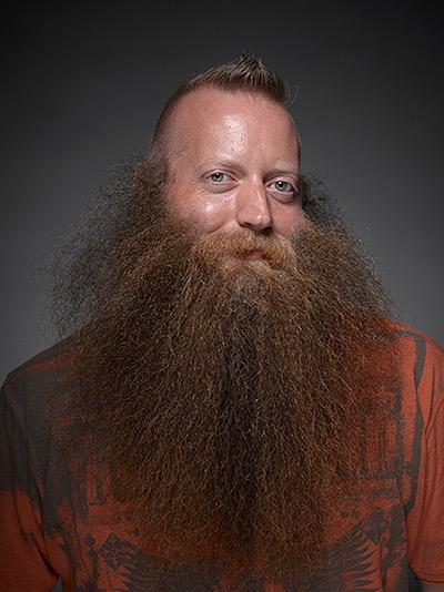 Full natural beard