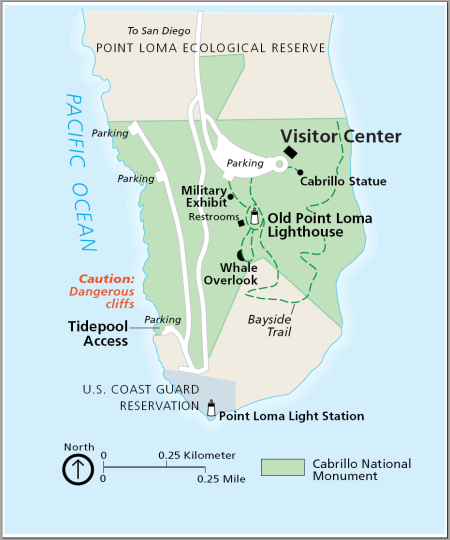 Cabrillo-National-Monument-map