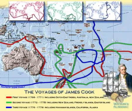 hawaii james voyages