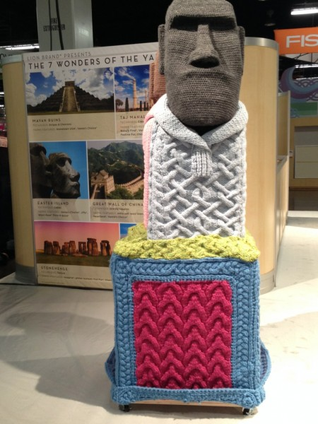 yarn easter island
