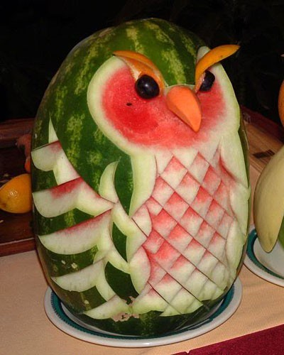 food art melon1