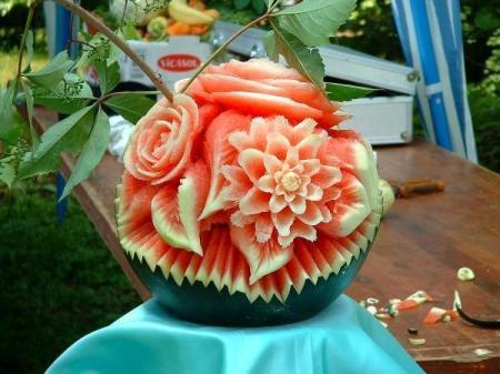 food art melon4