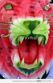 food art melon5