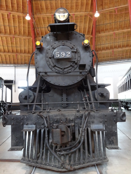 B&O engine 592