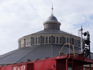 B&O Roundhouse museum2
