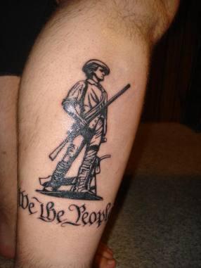 bunker minuteman tattoo