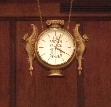 Brown Palace Clock