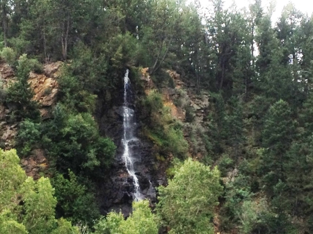 idaho springs waterfall2