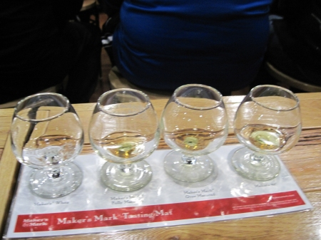 makers mark tasting