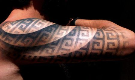 optical illusion tattoo2