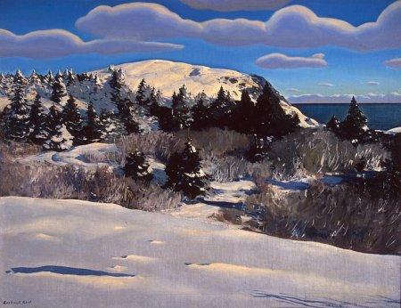 Kent Maine-Headland-Winter