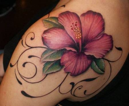 Hibiscus-Flower-Tattoos