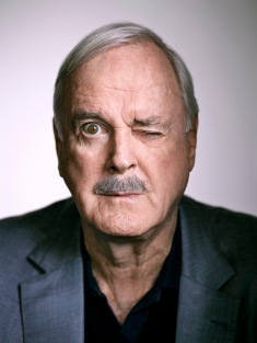 John Marwood Cleese (born 27 October 1939) is an English actor, comedian, writer and film producer. He achieved success at the Edinburgh Festival Fringe and as a scriptwriter and performer on The Frost Report. In the late 1960s, he co-founded Monty Python, the comedy troupe responsible for the sketch show Monty Python's Flying Circus and the four Monty Python films: And Now for Something Completely Different, Monty Python and the Holy Grail, Life of Brian and The Meaning of Life. In the mid-1970s, Cleese and his first wife, Connie Booth, co-wrote and starred in the British sitcom Fawlty Towers. Later, he co-starred with Kevin Kline, Jamie Lee Curtis and former Python colleague Michael Palin in A Fish Called Wanda and Fierce Creatures. He also starred in Clockwise, and has appeared in many other films, including two James Bond films, two Harry Potter films, and the last three Shrek films.