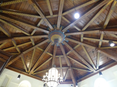 asilomar berkeley library ceiling