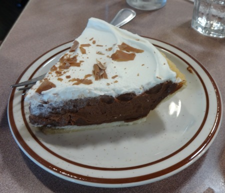 asilomar pie chocolate cream