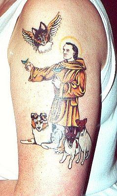 st-francis-tattoo