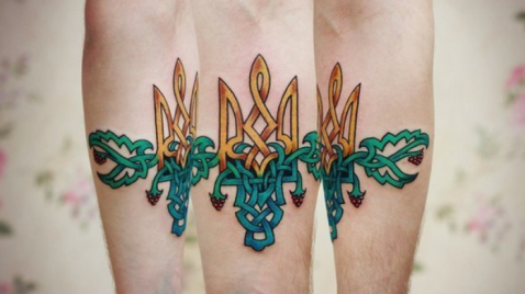 What to do while in Ukraine: Ukrainian Patriotic Tattoos.
